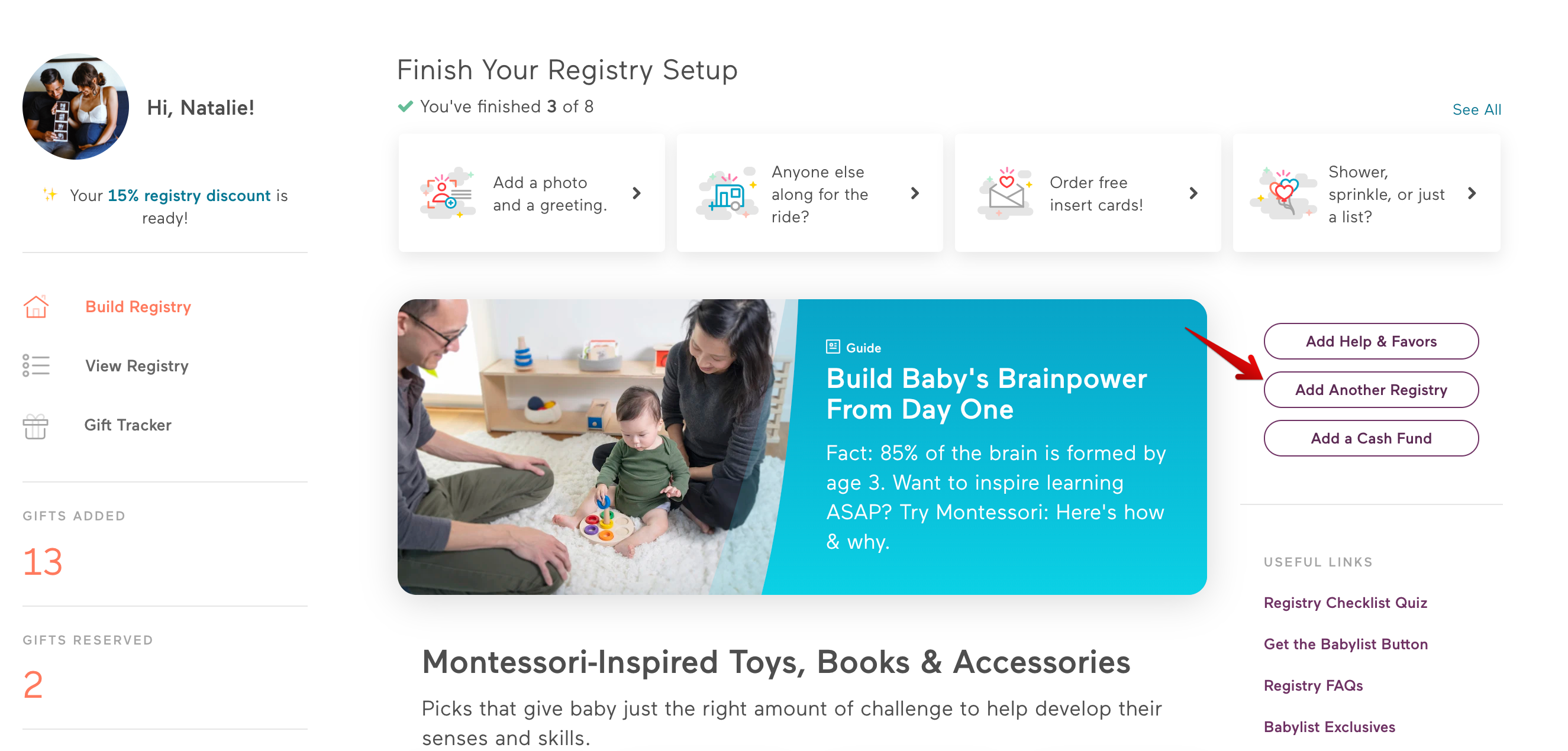 Can I copy another Babylist registry? - Babylist Help Center